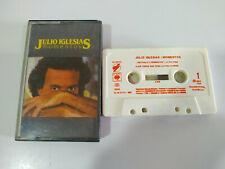 Julio Iglesias Momentos 1982 CBS Spain Edition - Cinta Cassette