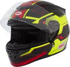 NEW BELL RS1 SPEED HI VIZ MOTORCYCLE HELMET SIZE X LARGE FREE SHIPPING SNELL2010