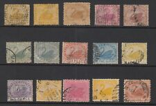 WESTERN AUSTRALIA collection of 15 stamps, Used
