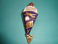 "Russian Soviet BADGE ""Instructor Parachutist"""