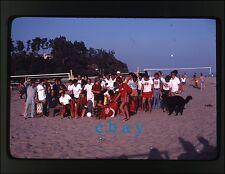 1979  photo slide Volleyball Santa Barbara CA Beach