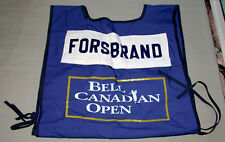 1996 Bell Canadian Open PGA Swedish Golfer Anders Forsbrand Caddy Worn Dossard