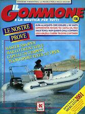 * IL GOMMONE E LA NAUTICA PER TUTTI N°196/ MAR.2001 *