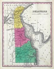 Delaware 175 old maps state genealogy lots History Birds Eye Dvd