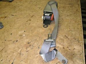OEM 00 Cadillac Deville Grey Rear Passenger's Side Seat Belt Retractor, safety