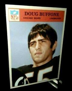 Chicago Bears Doug Buffone 1966 RC  style  Custom Handmade Card  Blank Back
