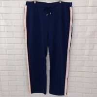 D&D Lifestyle (Drapers & Damons) Size 2X Navy Blue Casual Sweatpants Stretch