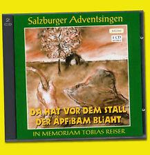 Salzburger Adventssingen DA HAT VOR DEM STALL DER ÄPFIBAM BLIAHT Apfelbaum RAR