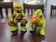 Tmnt Half Shell Heroes Michelangelo and Brachiosaurus Blast to the Past
