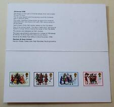 GB 1978 CHRISTMAS HARRISON PRESENTATION PACK MINT STAMPS SG 1071-1072 SEE #1429+