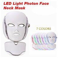 7 Colors LED Light Photon Face Mask Rejuvenation For Skin Care Therapy Wrinkle
