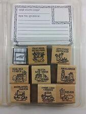 Stampin' Up! BON APPETIT Stamp Set Recipe Card Kit 2001