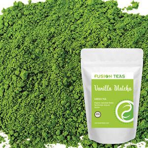 Vanilla Matcha Green Tea Powder - Ceremonial Grade - Fusion Teas