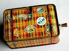 ancienne petite boite a musique en forme de valise ( jouet germany  k.r.z. )