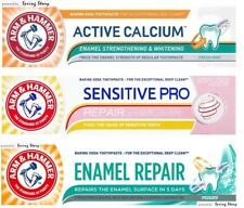 ARM HAMMER Sensitive ProRepair/ActiveCalcium Enamel Strengthen Whiten Toothpaste