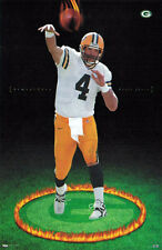Brett Favre ARMAGEDDON (1998) Green Bay Packers Costacos Brothers POSTER