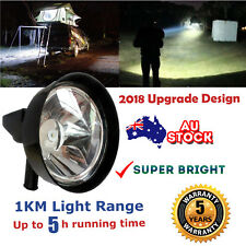 LED 22000Lumen 220W Rechargeable Spotlight Hunting Hand Held Torch Spot Light AU