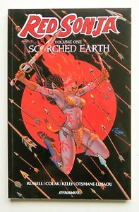 Red Sonja Scorched Earth 1 Dynamite Graphic Novel Comic Book