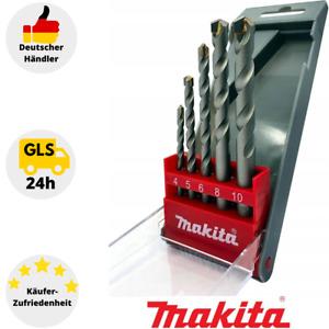 Makita D-05175 Set Economy 5-teilig Stein-Spiralbohrer 1 Set Beton Bohrer