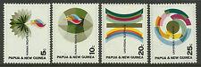 PAPUA NEW GUINEA 1968 HUMAN RIGHTS 4v MNH