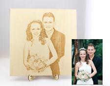 Fotoalbum, Hochzeit, personalisiert, Holz, individualisiert, Foto, Album, Photo