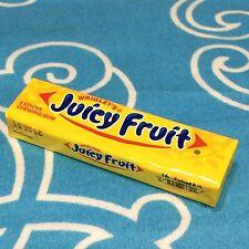 Wrigleys Juicy Fruit Flavor Chewing Gum Packs 5 Sticks 13.5g Original Thai Gums