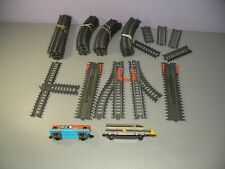 Jakks Pacific Power Trains 50 Pieces Of Track & Train Engine With Car C