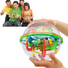 3D Labyrinth 100 Barriers Magic Ball Balance Maze Perplexus Puzzle Toy Gifts S