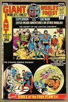 World's Finest Comics #206-1971 fn 6.0 Batman Giant-Size Superman