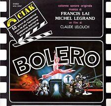 BOLERO - Colonne Sonore (F.Lai/M.Legrand) 1981 Vinile=Mint Film 2 LP Raro