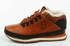 NEW Balance [H754LFT] Lined Mens Winter Sneaker Boots Trainers Brown