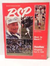 Beaver Stadium Pictorial football program: Sep.1989 Penn State vs Virginia