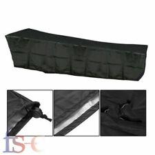 Black Waterproof Sun Lounger Garden Furniture Cover Patio Rattan Heavy Duty Uk
