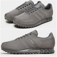 NEW Adidas LA Trainer Woven Gloom Grey Men's Trainers All Sizes Limited Stock