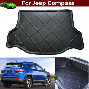 Car Mat Cargo Cover Cargo Liner Trunk Cargo Tray Mat for Jeep Compass 2017-2021