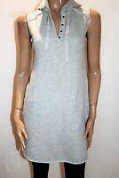 LOFT Brand Grey Sleeveless Hoodie Dress Size 0 #AN02