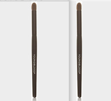 X2 Youngblood Crease Eyeshadow Brush New in Package Set Of Two (2)