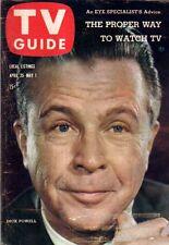 1959 TV Guide April 25 - Dick Powell; Clint Walker, Cheyenne; Steve McQueen;