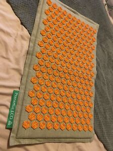 Pranamat ECO Massage Mat  - Orange -Used A Few Times Prana Mat RRP £129