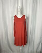 Fabkids Orange Cold Shoulder Shift Dress Size XXL