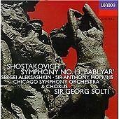Shostakovich:Sym 13, Chicago So, Solti, Very Good