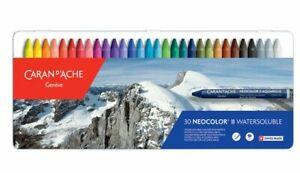 Caran d'Ache Neocolor II Water Soluble Colour Wax Pastels set of 30 RRP £53