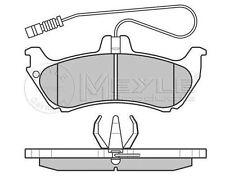 025 231 9017 / W Meyle Freno Pad Set Accoppiamento Mercedes BM 163 (classe M) (02/98-06 / 05)