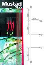 Mustad #4 mini Day glo Rig makrelenvorfach t16/s0954