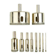 25-110mm Dia Glass Hole Saw Diamond Tipped Tile Ceramic Marble Drill Bit Cutter