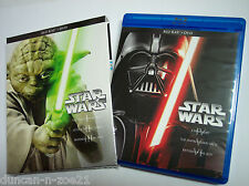 Star Wars Saga MINT Complete 1-6 DVD Set Episodes I,II,III,IV,V,VI (NO Blu-rays)