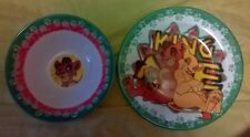 assiette bol vaisselle disney le roi lion The lion king plate vintage