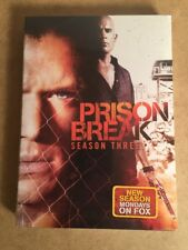 Prison Break Season Three NEW SEALED DVD 4 Discs