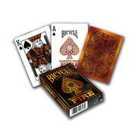 Bicycle Elements Fire Spielkarten, Kartenspiel mit Tollem Motiv! NEU & OVP !!