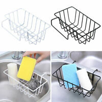 Kitchen Sponge Holder Sink Caddy Organizer Sink Hanging Storage Basket Shelves